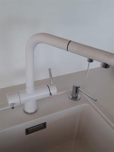 Instalace baterie na filtrovanou vodu Blanco, Jablůnka