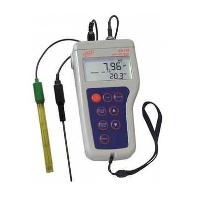 Přenosný vodotěsný pH metr AD130