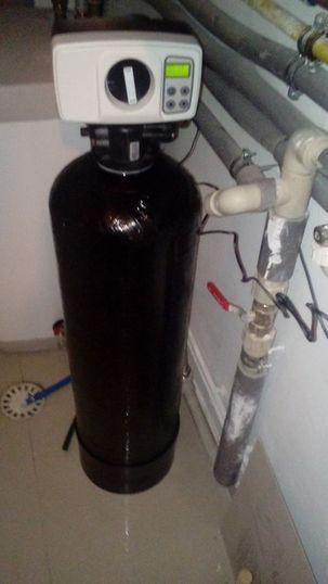 Realizace - uhlíková filtrace vody